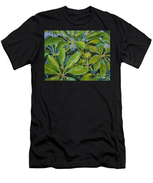 Schefflera-right View Men's T-Shirt (Athletic Fit)
