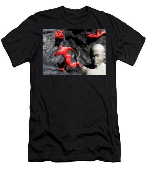 Schizophrenic Lucidity Men's T-Shirt (Athletic Fit)