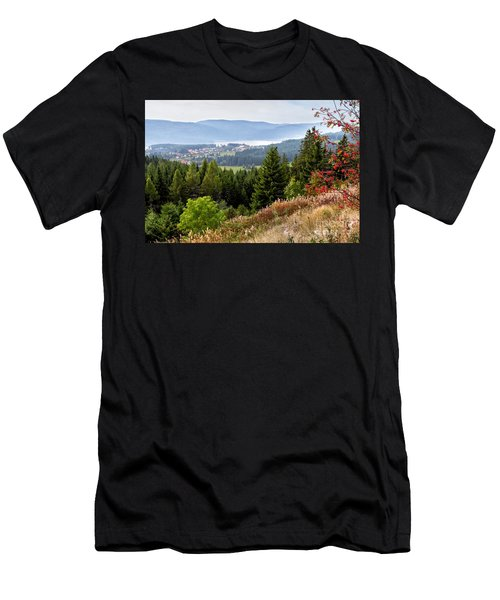 Schluchsee In The Black Forest Men's T-Shirt (Athletic Fit)