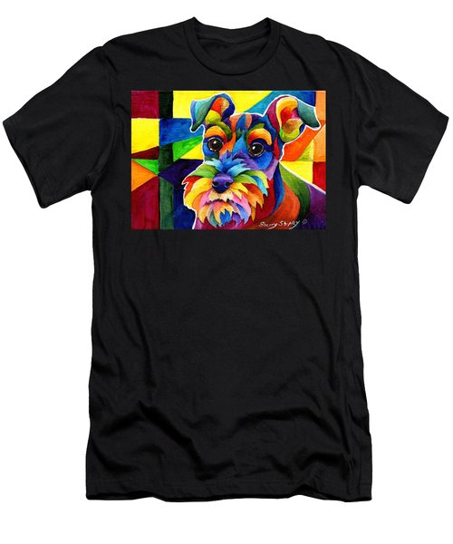Schnauzer Men's T-Shirt (Athletic Fit)