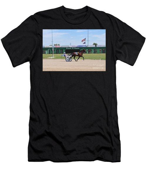 D3w-206 Scioto Downs Photo Men's T-Shirt (Athletic Fit)