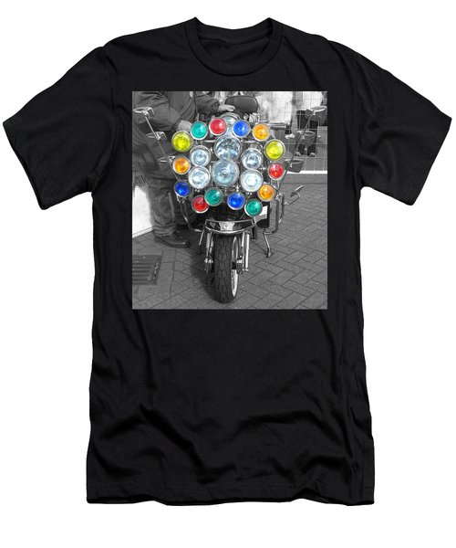 Scooter Spotlights Men's T-Shirt (Athletic Fit)