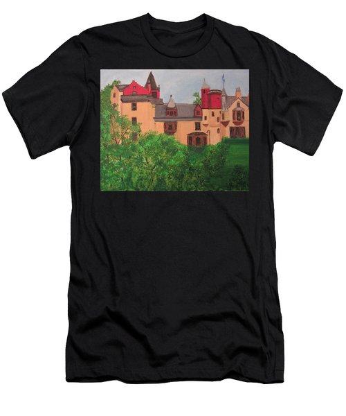 Scottish Castle Men's T-Shirt (Athletic Fit)