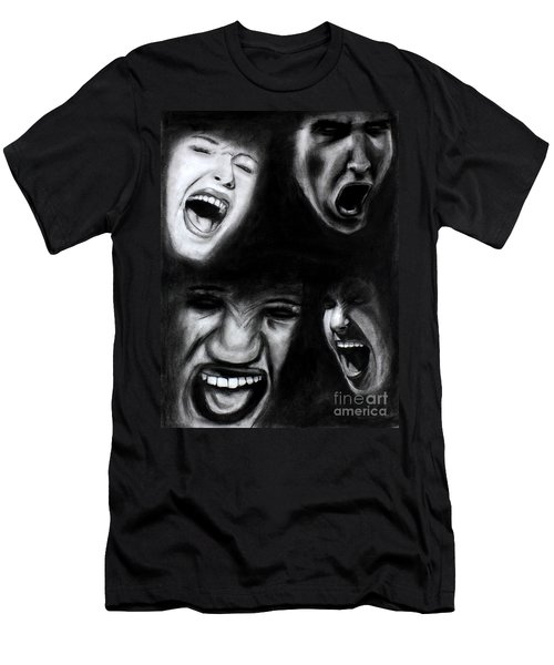 Scream Men's T-Shirt (Athletic Fit)