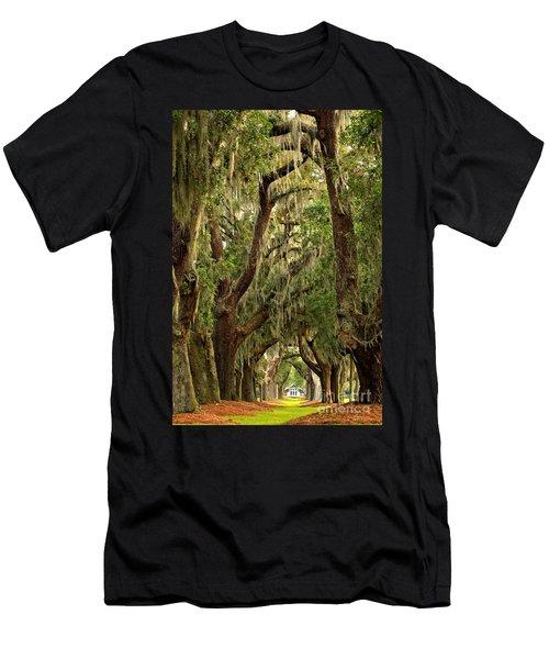 Sea Island Oaks Portrait Men's T-Shirt (Athletic Fit)