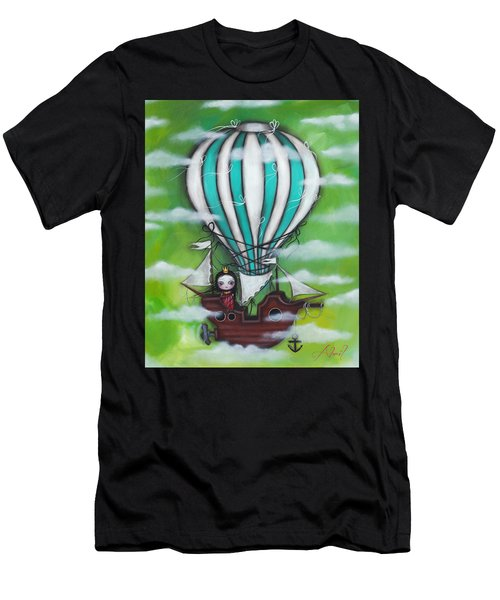 Sea Of Clouds Men's T-Shirt (Slim Fit) by Abril Andrade Griffith