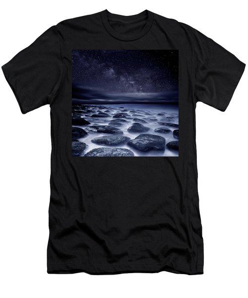 Sea Of Tranquility Men's T-Shirt (Athletic Fit)
