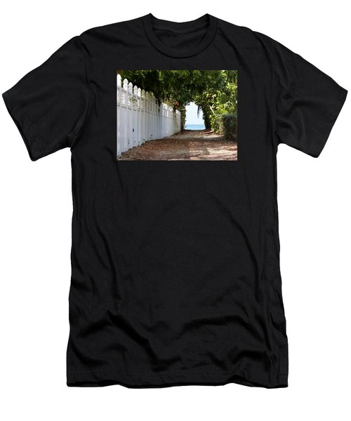 Passage To Sea Men's T-Shirt (Slim Fit) by Amar Sheow