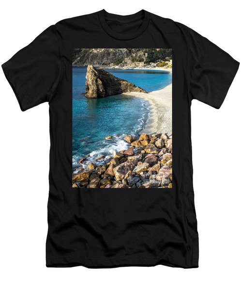 Sea Stack Of Monterosso Men's T-Shirt (Athletic Fit)