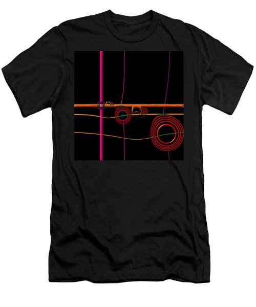 Seance Saturday Men's T-Shirt (Slim Fit) by Wendy J St Christopher