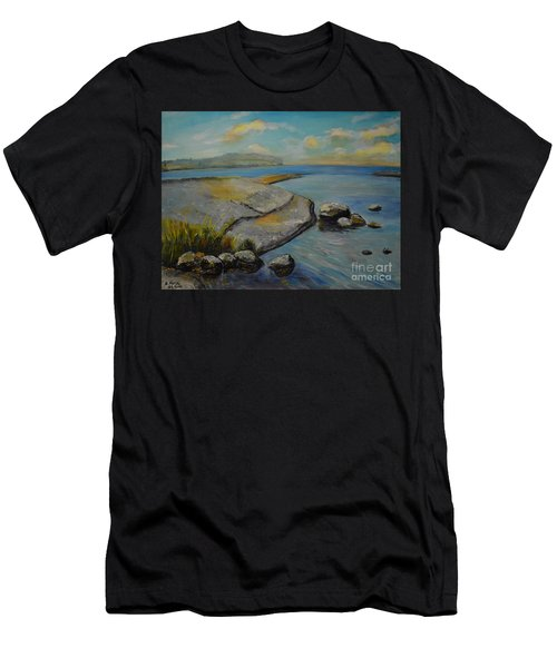 Seascape From Hamina 1 Men's T-Shirt (Athletic Fit)