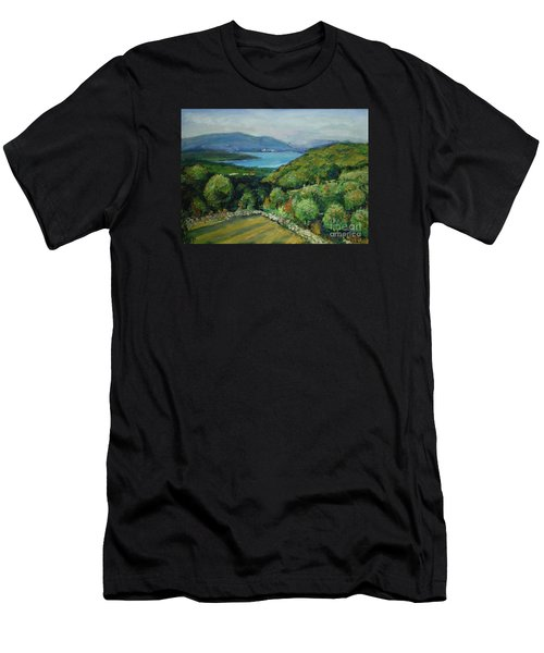 Seascape From Kavran Men's T-Shirt (Athletic Fit)