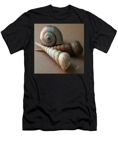 Seashells Spectacular No 29  Men's T-Shirt (Athletic Fit)