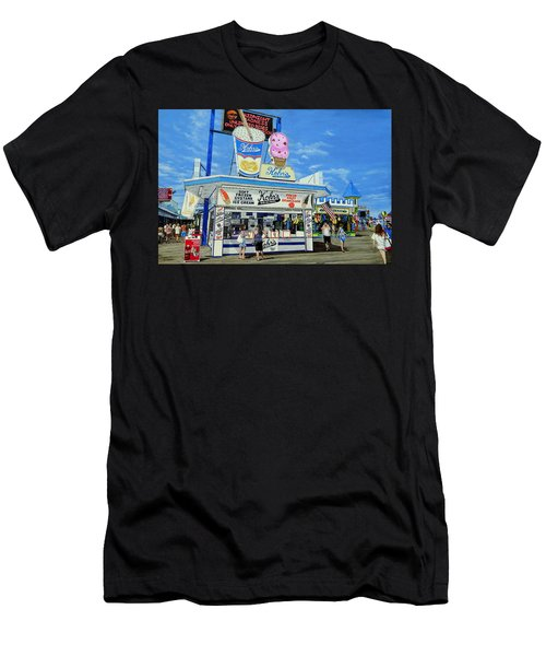Seaside Memories Men's T-Shirt (Athletic Fit)