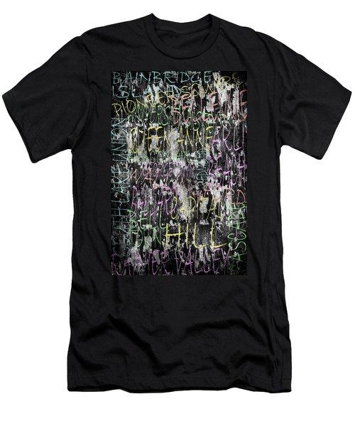 Seattle Neighborhoods Men's T-Shirt (Athletic Fit)
