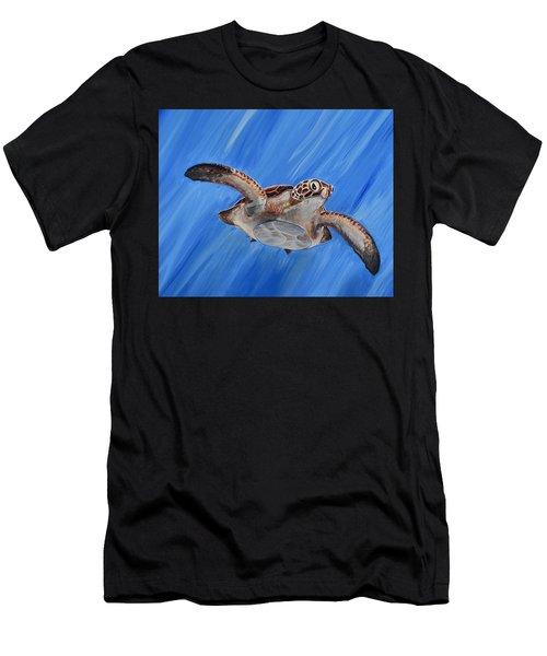 Seaturtle Men's T-Shirt (Athletic Fit)