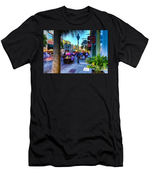 Second Sunday On King St. Charleston Sc Men's T-Shirt (Athletic Fit)