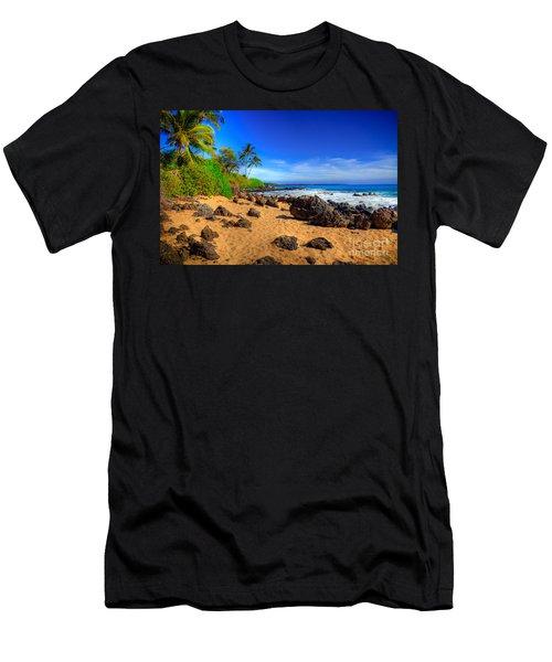 Secret Beach Maui Men's T-Shirt (Athletic Fit)