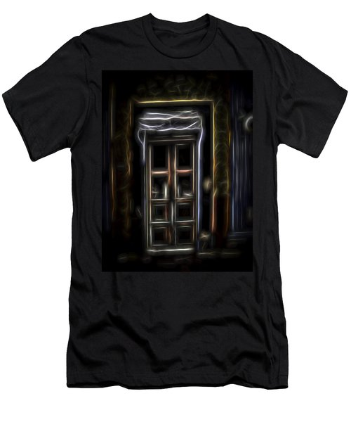 Secret Doorway Men's T-Shirt (Athletic Fit)