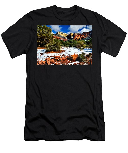 Sedona Arizona - Wilderness Men's T-Shirt (Athletic Fit)