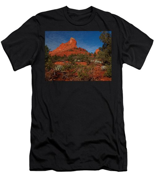 Men's T-Shirt (Athletic Fit) featuring the photograph Sedona by James Peterson
