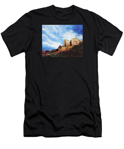 Sedona Mountains Men's T-Shirt (Athletic Fit)