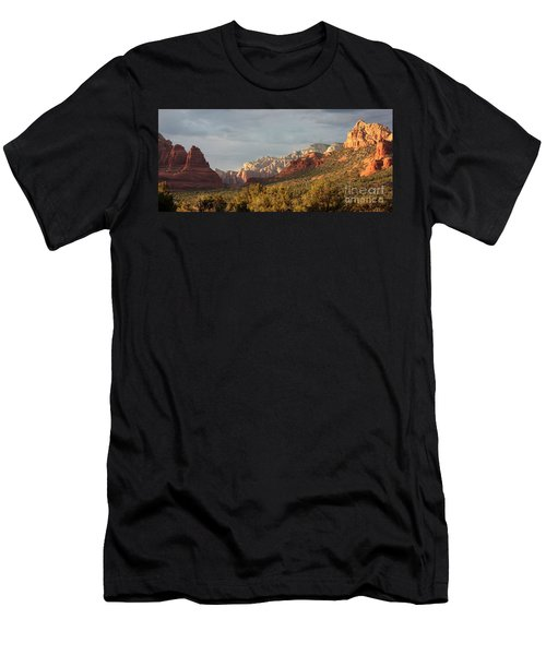 Sedona Sunshine Panorama Men's T-Shirt (Athletic Fit)