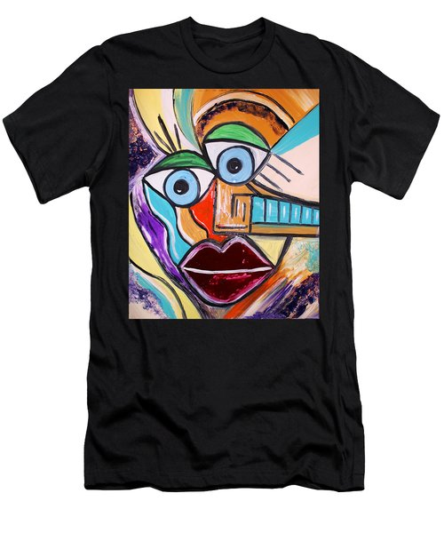 See It Positive Men's T-Shirt (Athletic Fit)