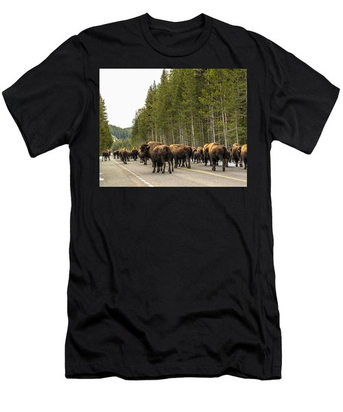 Men's T-Shirt (Slim Fit) featuring the photograph See You In Spring by Yeates Photography