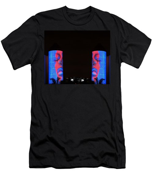 Men's T-Shirt (Slim Fit) featuring the photograph Seeing Double by J Anthony