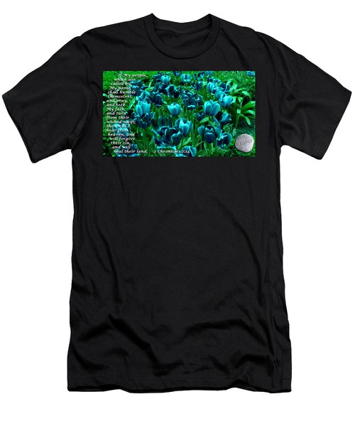 Seek My Face Men's T-Shirt (Slim Fit) by Terry Wallace