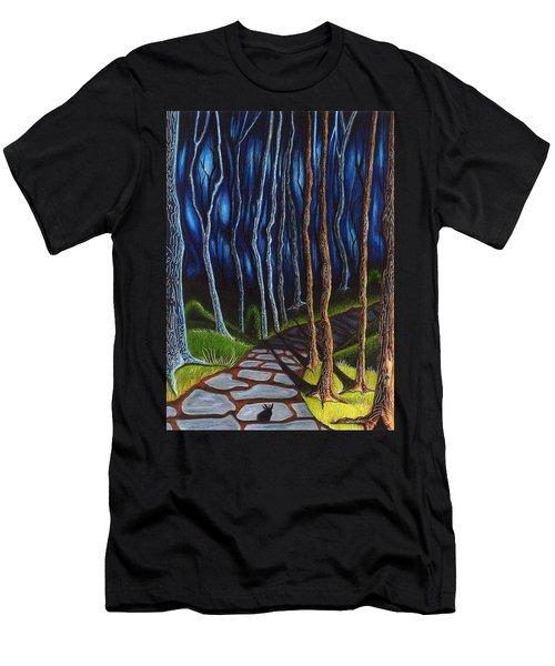 Seeking A Shadow  Men's T-Shirt (Athletic Fit)