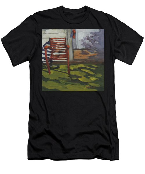Seen Better Days - Art By Bill Tomsa Men's T-Shirt (Athletic Fit)