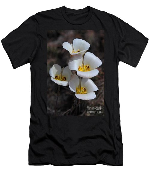 Sego Lily Men's T-Shirt (Slim Fit) by Vivian Christopher