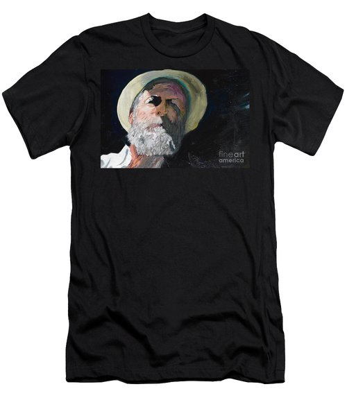 Men's T-Shirt (Slim Fit) featuring the painting Self Portrait  by Brian Boyle