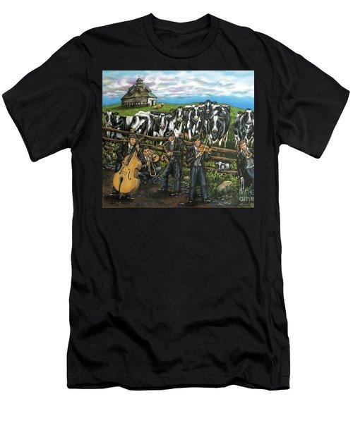 Semi-formal Men's T-Shirt (Slim Fit) by Linda Simon