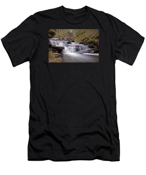 Seneca Falls In Spring Men's T-Shirt (Athletic Fit)
