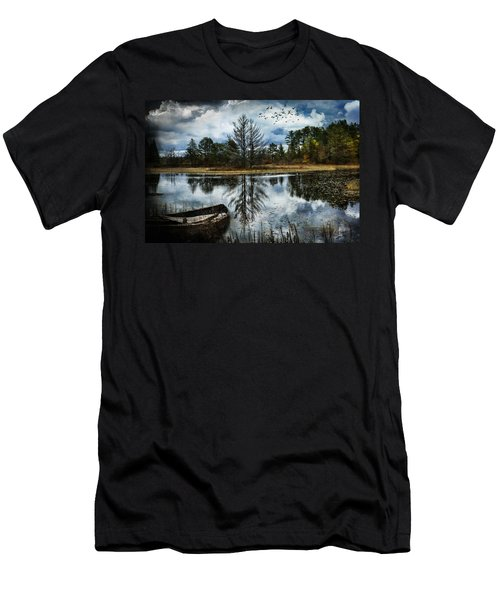 Seney And The Rowboat Men's T-Shirt (Athletic Fit)