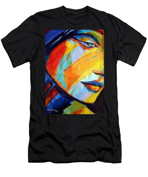 Men's T-Shirt (Slim Fit) featuring the painting Sentiment by Helena Wierzbicki