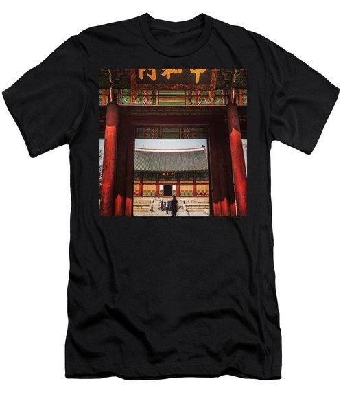 Seoul, South Korea Men's T-Shirt (Athletic Fit)