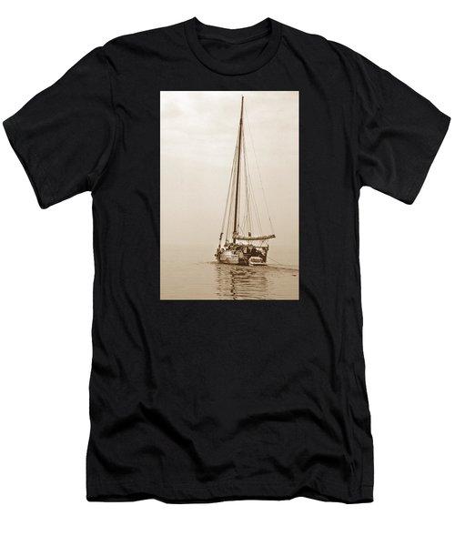 Sepia Minnie V Men's T-Shirt (Athletic Fit)