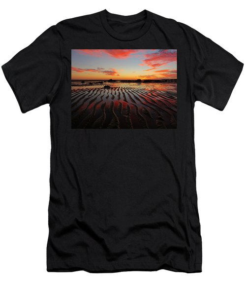 Men's T-Shirt (Slim Fit) featuring the photograph September Brilliance by Dianne Cowen