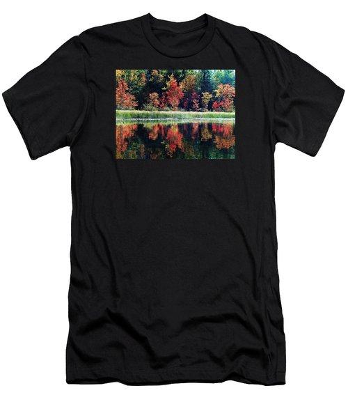 Men's T-Shirt (Slim Fit) featuring the photograph September Color by Joy Nichols