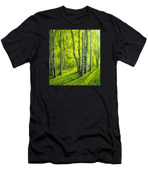 September In The Woods Men's T-Shirt (Athletic Fit)