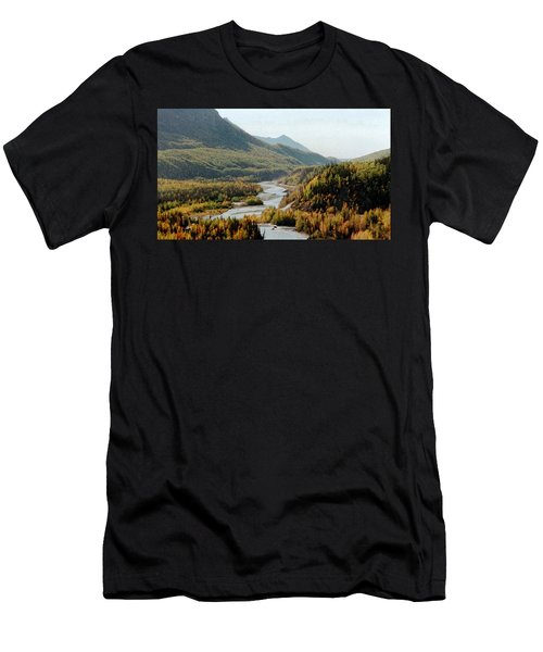 September Morning In Alaska Men's T-Shirt (Athletic Fit)
