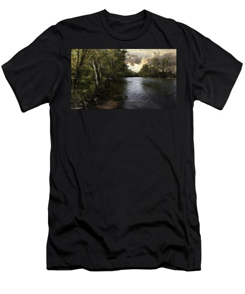 Men's T-Shirt (Slim Fit) featuring the photograph Serenity by Lynn Geoffroy