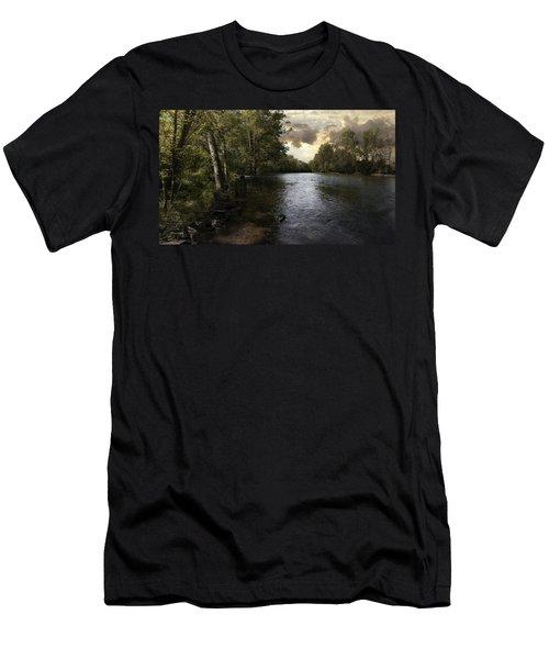 Serenity Men's T-Shirt (Slim Fit) by Lynn Geoffroy