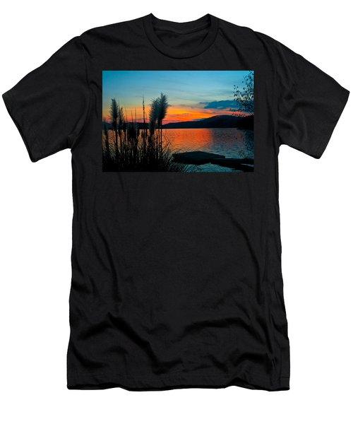 Serenity Orange Men's T-Shirt (Athletic Fit)
