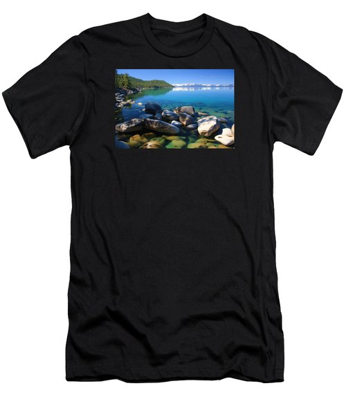 Men's T-Shirt (Slim Fit) featuring the photograph Serenity by Sean Sarsfield