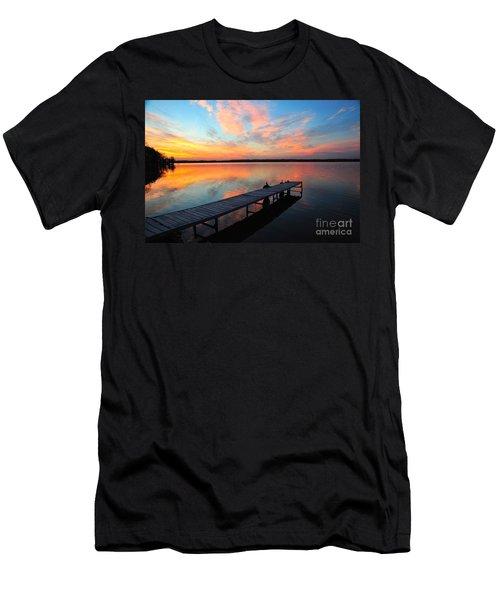 Serenity Men's T-Shirt (Slim Fit) by Terri Gostola